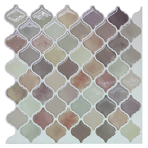 Clever Mosaics home decoration peel and stick self-adhesive mosaic wall tiles