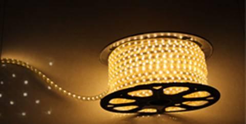 Chrismas using led strip light