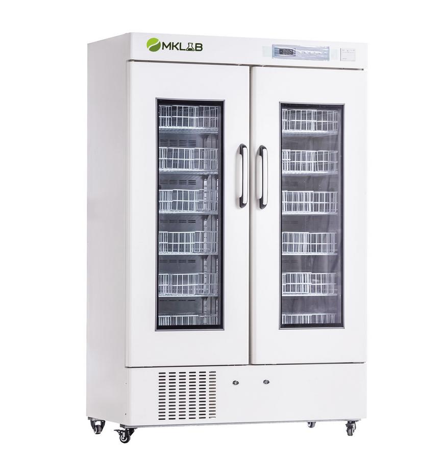 MKLB Double Door Blood Bank Refrigerator(658L&1008L)