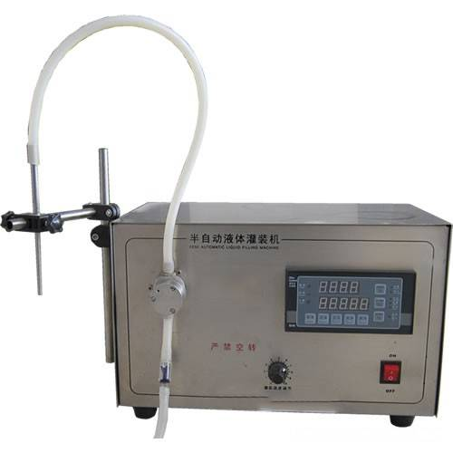 semi-automatic pump filling machine for liquid/paste