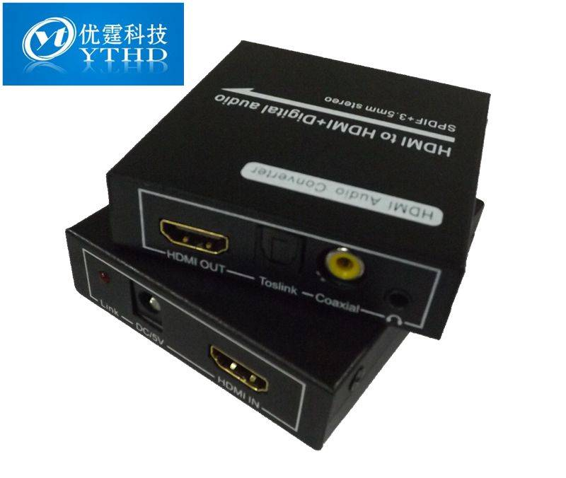 HDMI to HDMI+ Digital audio (SPDIF + 3.5mm stereo ) hdmi to spdif converter digital audio decoder au