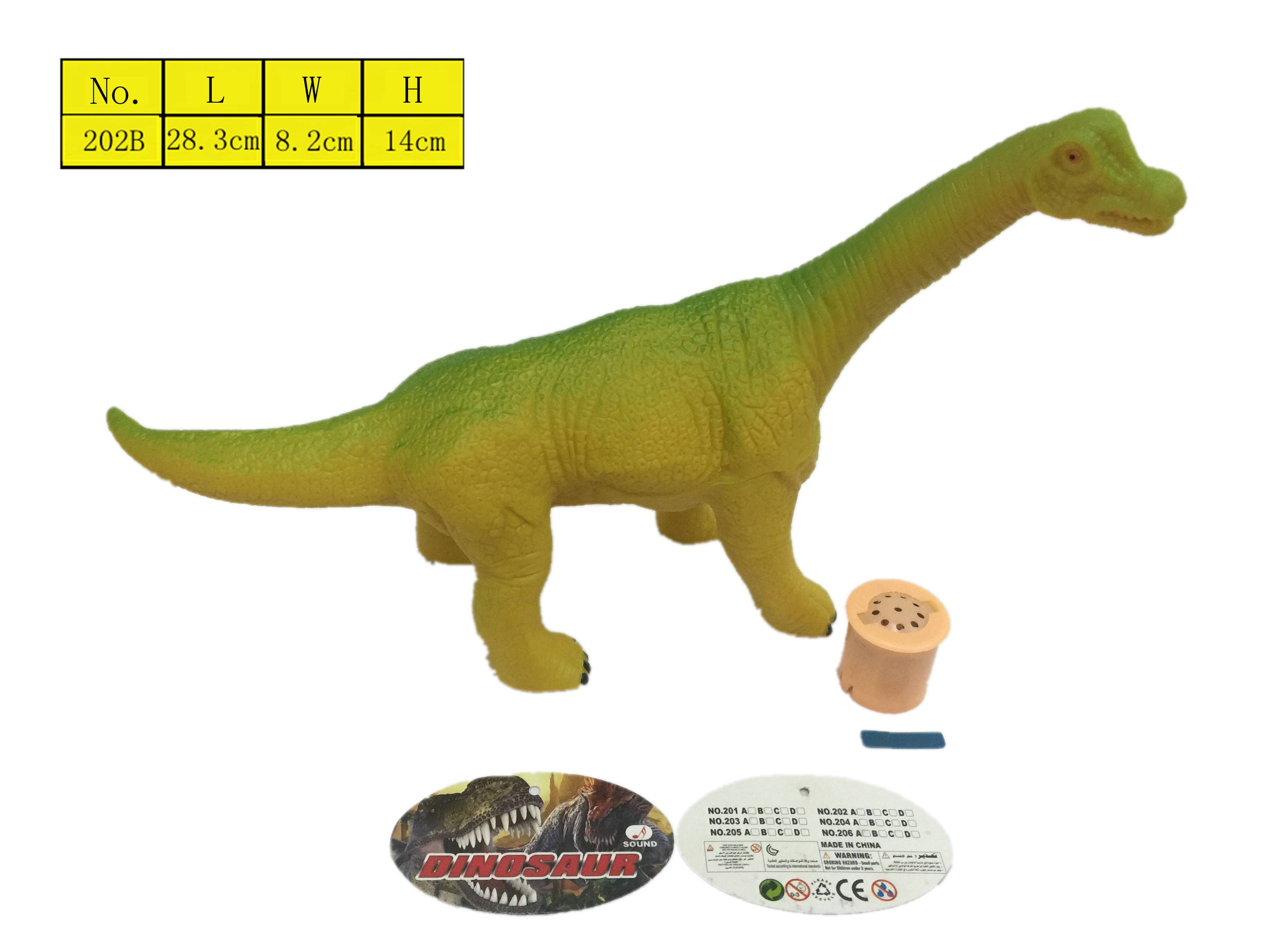 Vinyl Animal Model Dinosaur toys with sound wholesale Manufacturer cheap vinyl