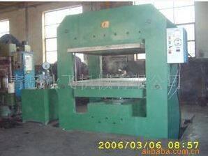 Non-standard plate vulcanizing machine