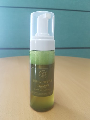 100% chemical free Natural Saponin cleansing Foam