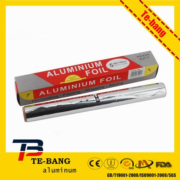 Kitchen usage aluminium foil for food packing
