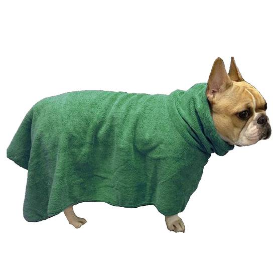 Microfiber drying towel for dog