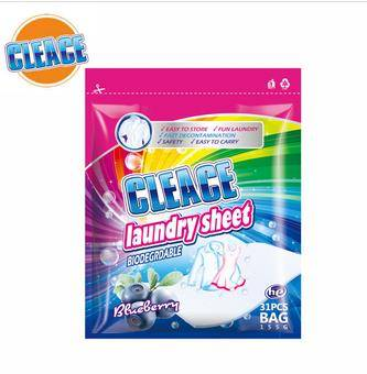 CLEACE LAUNDRY SHEET
