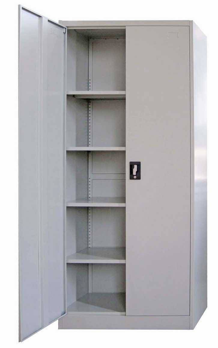 Two swing door steel storage filing cabinet luoyang