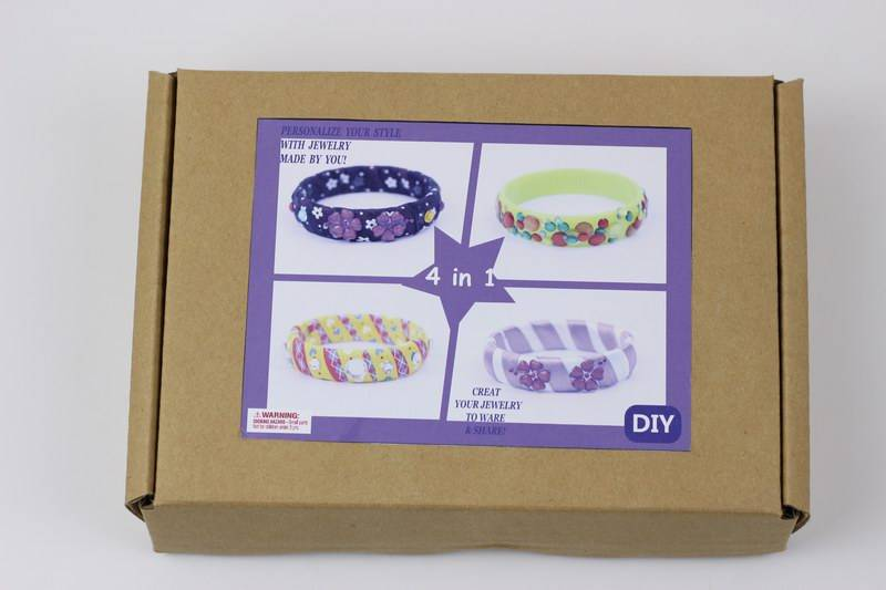 Kids Craft Make Friendship Bangle DIY Fashion Jewelry