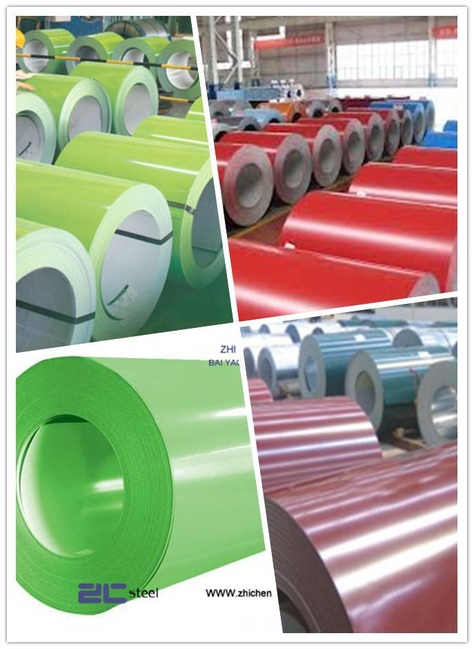 low price high quality ppgi prepainted galvanized iron coil prepainted GI iron coil from Jiangsu Chi