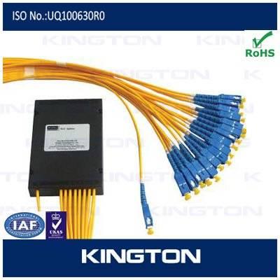 Planar Waveguide Fiber 1*16 Port PLC Splitter
