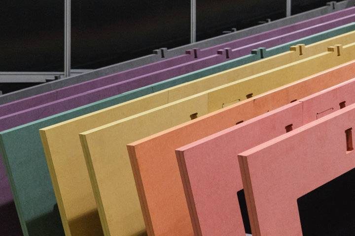 Engineered Colored Wood Panel-Valchromat Panels