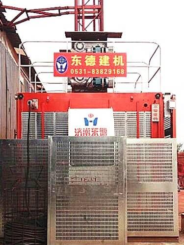 2000KG Double-cage Construction Hoist