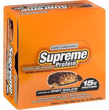 Supreme Protein Carb Conscious Bar