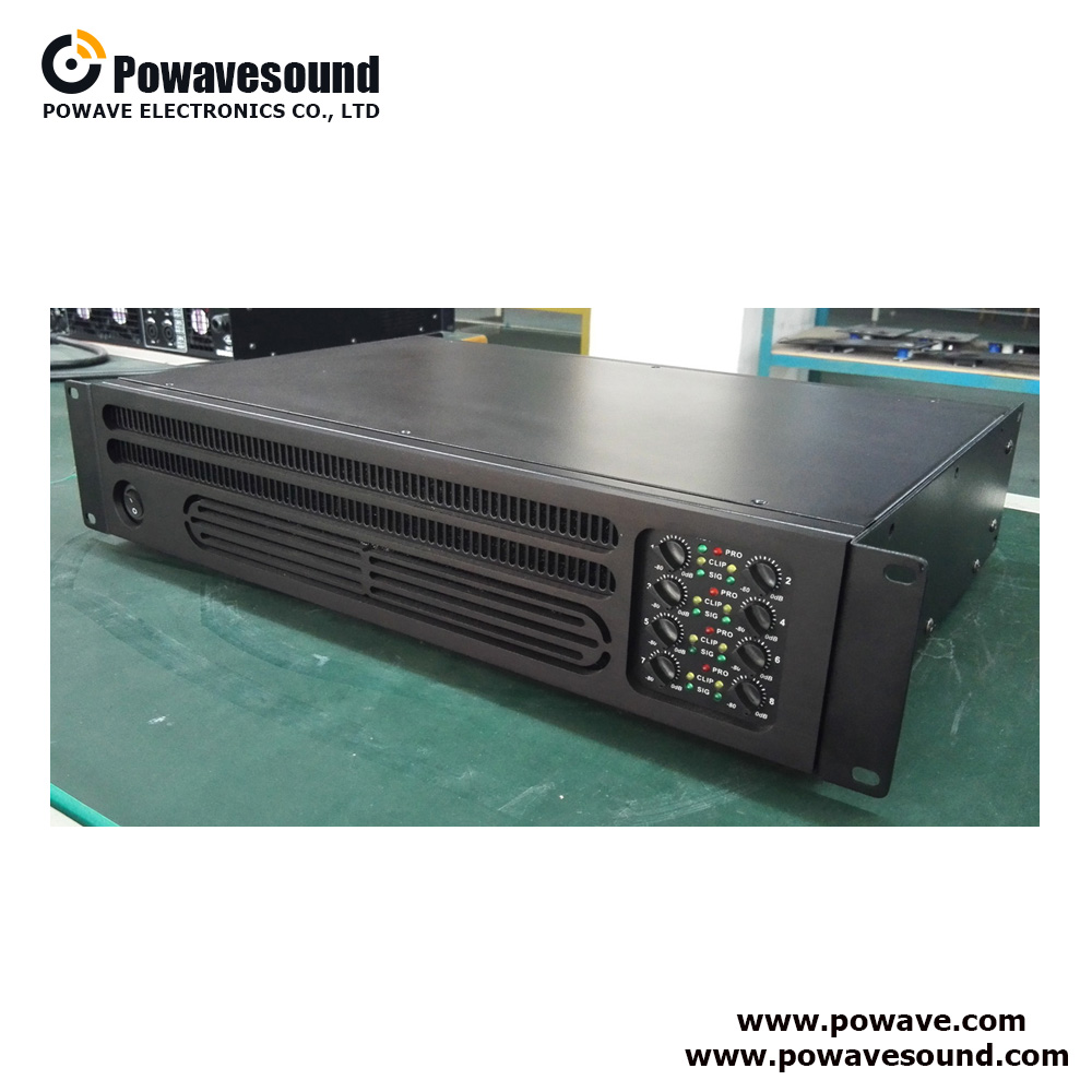 PA-6150, PA-8150 Powavesound multi channel pa amplifier public amplifier switching power