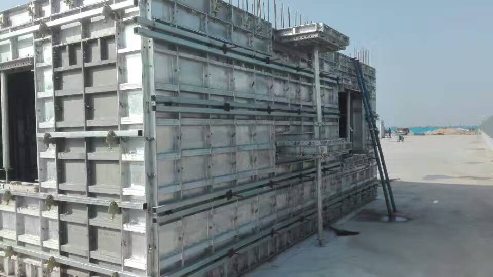 new kind of aluminum formwork,durable,low cost,easy to set up,tear down, and clean.