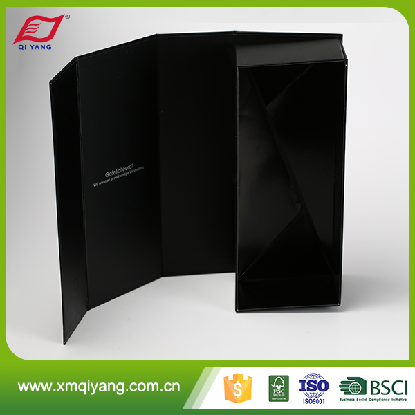 High quality single wine glass box,luxury corrugated cardboard wine box