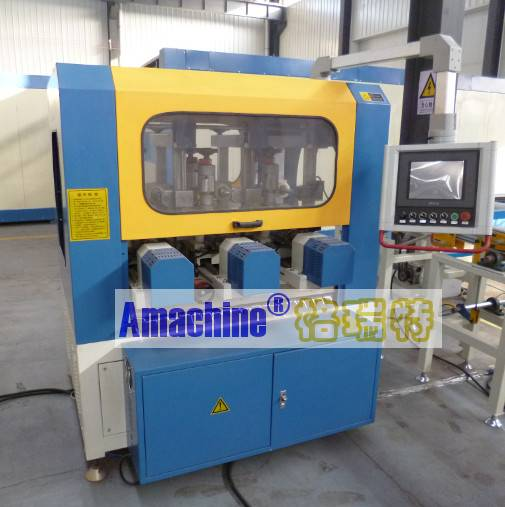 Five-axis CNC Knurling Machine for thermal break aluminum profile