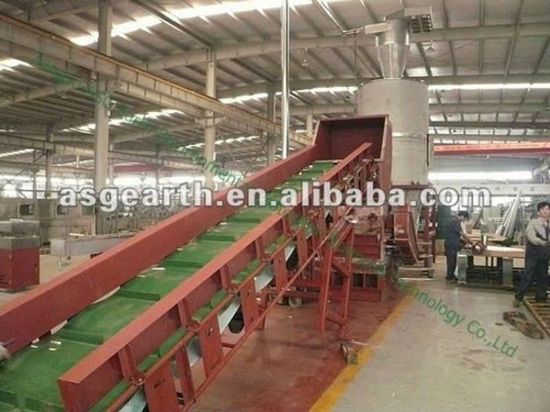 PP PE plastic granulating plant