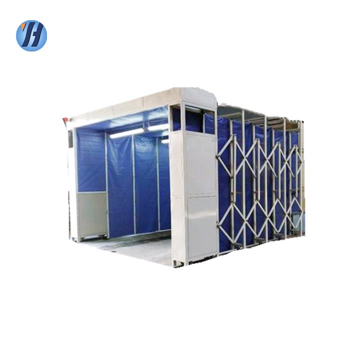 Yahui boat paint equipment spray booth retractable spray booth