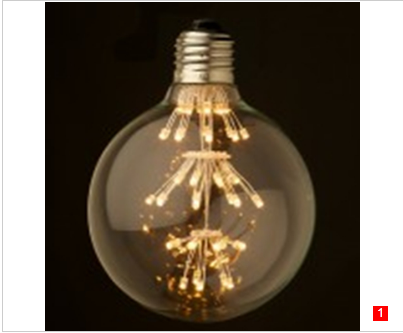 G125 Spherical LED Globe bulbs