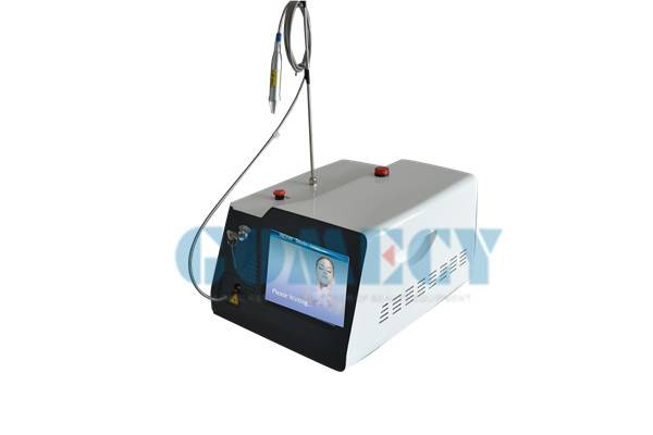 distributors wanted best treatment effects 980nm Vascular removal laser for thread line & red vascul