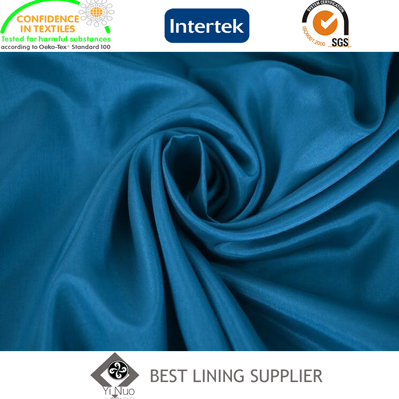 100% Acetate Plain Lining High Quality Anti-static Antispetic Soft Smooth Suit Lining