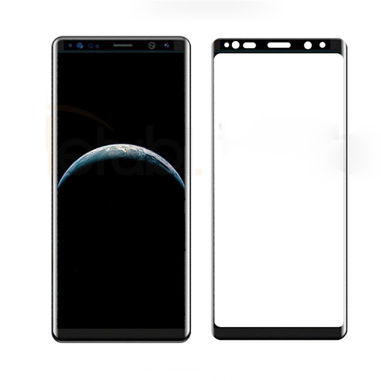 3D full cover tempered glass screen protector for Samsung Note 8