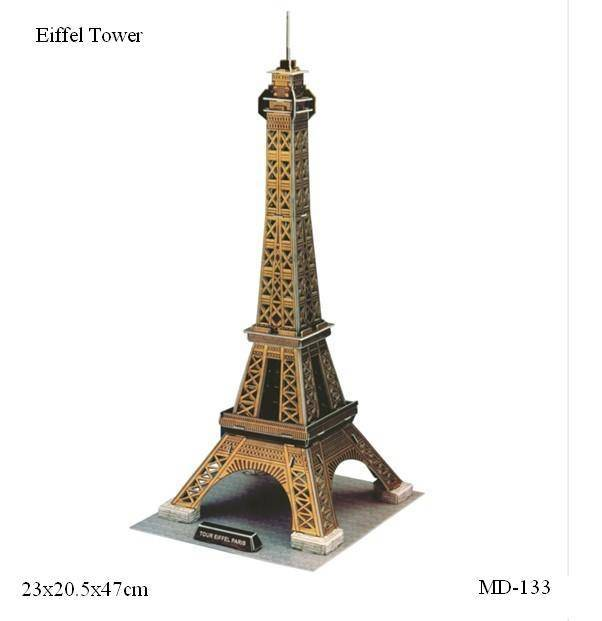 3D puzzle for Eiffel Tower (MD-133)