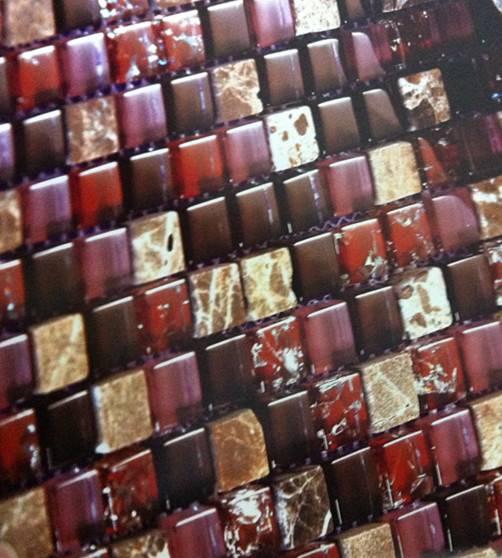 Stone & Glass mosaic
