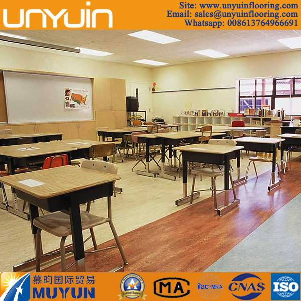 China Factory Direct Sale Vinyl Floor for Schools