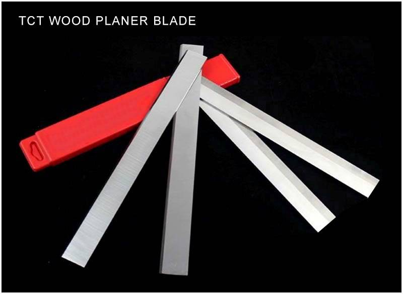 Tungsten carbide planer knife for hardwood