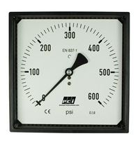 Square Profile Pressure Gauge - SQ100