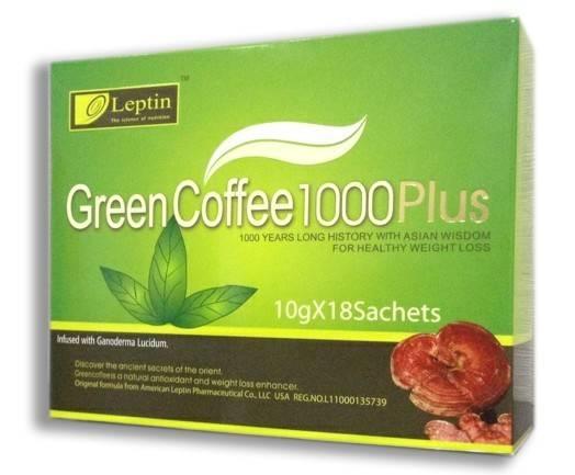 Leptin Green coffee 1000