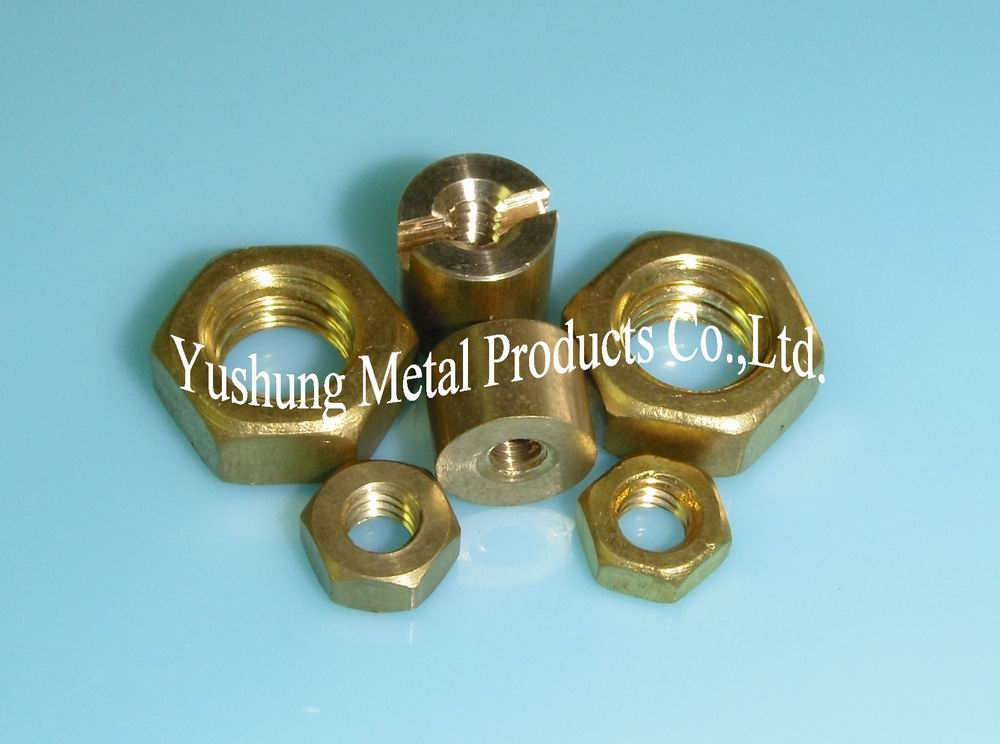All kinds of brass nuts