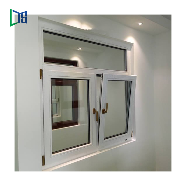 Tilt and Turn Windows Aluminium Profile Doors Windows Double or Single Glass Window