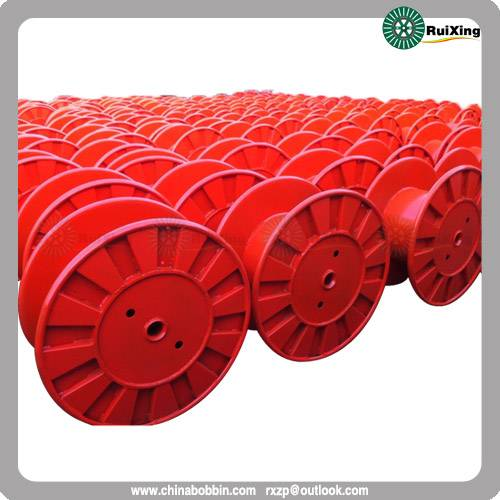 Quality Wire puller wire drum custom mild steel wire spool Steel cord and Tire cord spools