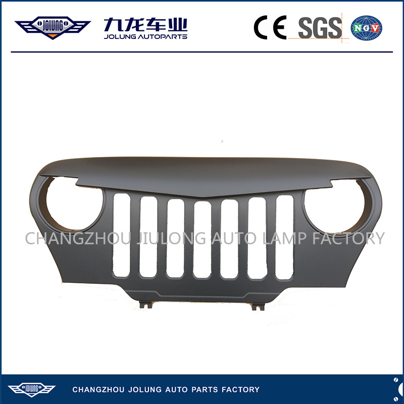 TJ Grille for 1997 - 2006 Jeep Wrangler - 4x4 Auto Parts Plastic Front Grill