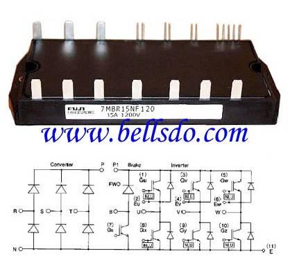 7MBR15NF120 IGBT module