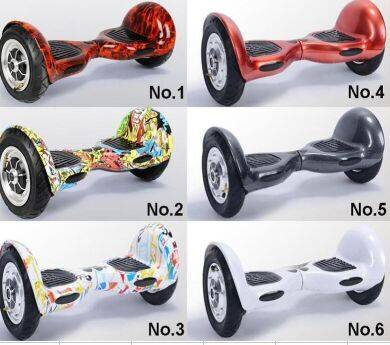 Smart Self Balancing Scooters with Bluetooth Speaker LED Light 2Wheel Electric Drift Scooter 6 color