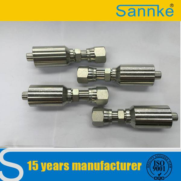 Hydraulic Tube Metal Stainless Steel Pipe Fitting