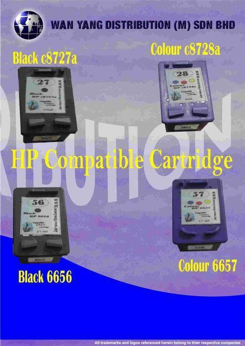 HP Compatible Inkjet Cartridge C8727A, C8728A