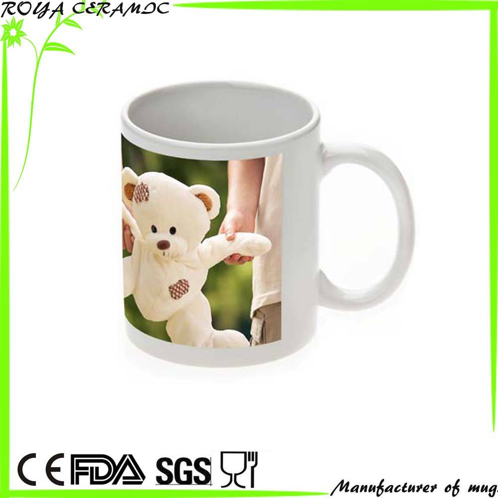 Low price ceramic mug can be coutomized any logo