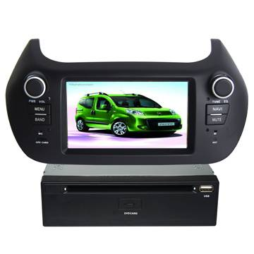 """6.2"""" Double Din Car DVD Player with Android system for FIAT Fiorino/Peugeot Bipper/Citroen Nemo"""