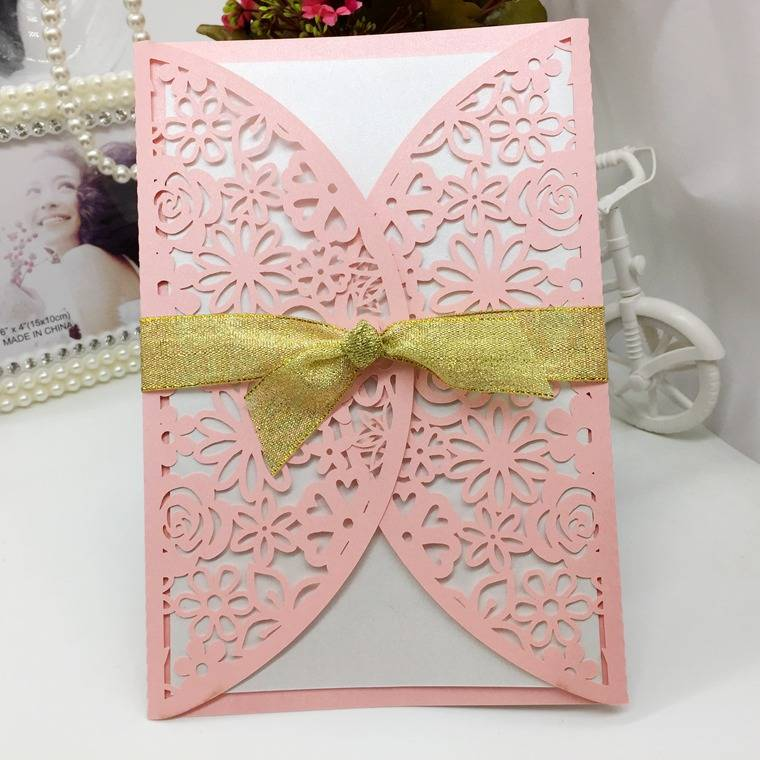 Quality Unique Product Wedding Invitaion & Greeting Card