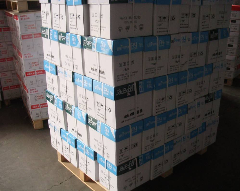 High Quality factory direct 100% wood pulp a4 80g copy paper