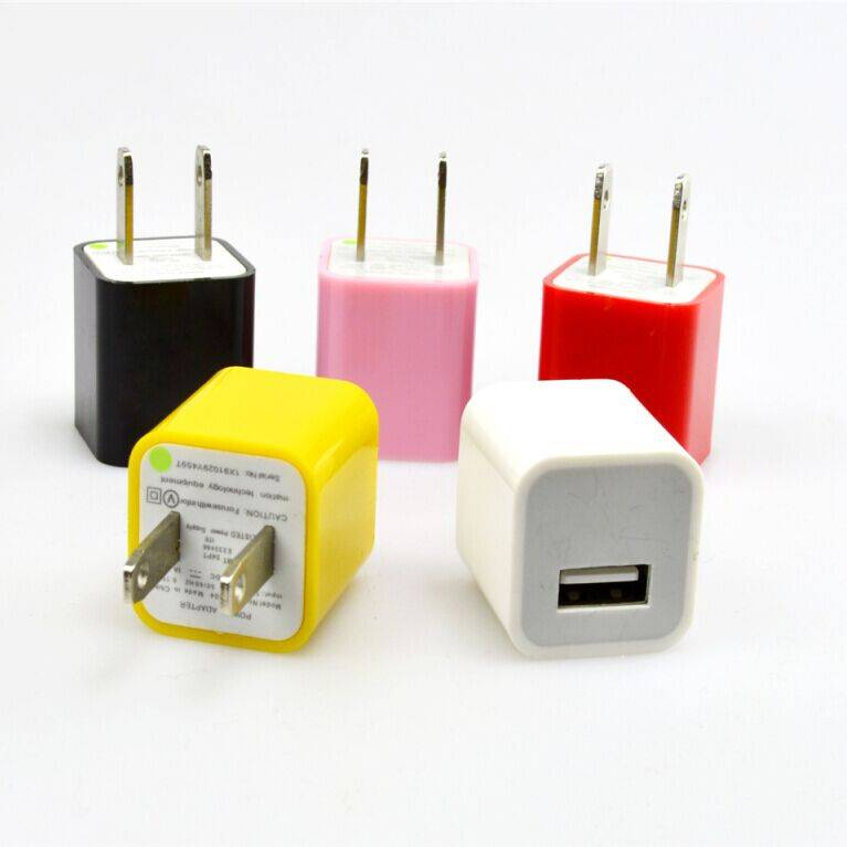 Hot Sale Mini Travel USB Wall Charger For iPhone