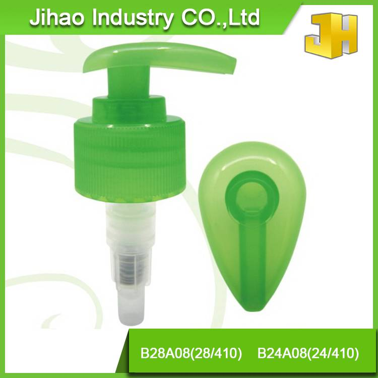Cosmetic bottle plastic pump