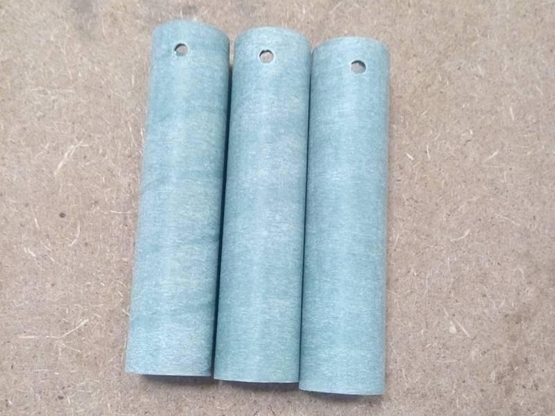 Vulcanized fiber tube