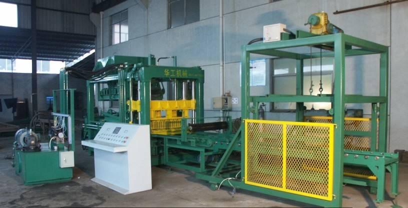 QT6-15brick block making machine